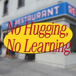 No Hugging No learning Podcast Logo