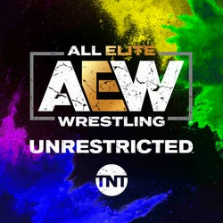 AEW Unrestricted Podcast Logo