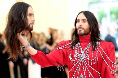 Jared Leto at the Met Gala