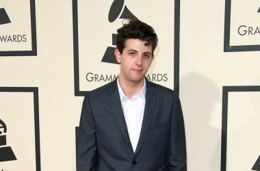 Jamie XX at the 58th Grammy Awards