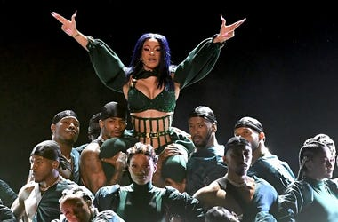 Cardi B performs onstage at the 2019 BET Awards