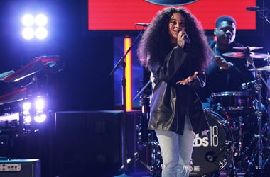 Ella Mai performs onstage at the 2018 BET Awards at Microsoft Theater on June 24, 2018 in Los Angeles, California.