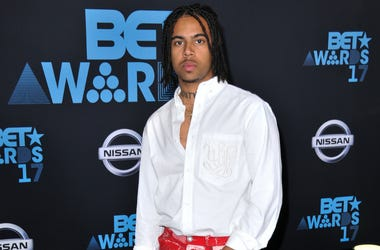 Vic Mensa at the 2017 BET Awards held at Microsoft Theater on June 25, 2017 in Los Angeles, CA, USA