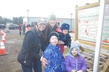 Sandy at Wilberts Christmas Tree Farm