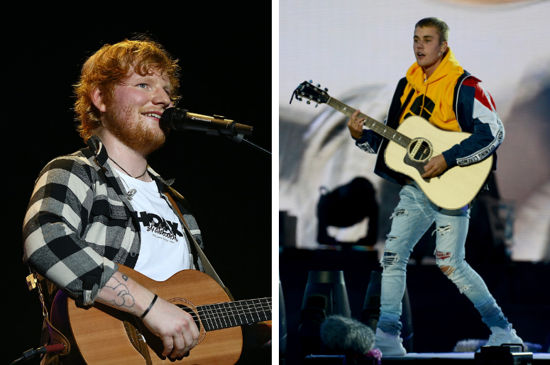 Ed Sheeran and Justin Bieber reportedly working together