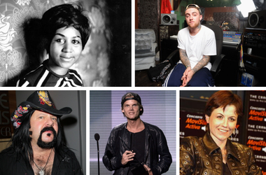 In Memoriam Music 2018: Aretha Franklin, Mac Miller, Vinnie Paul, Avicii., Dolores O'Riordan