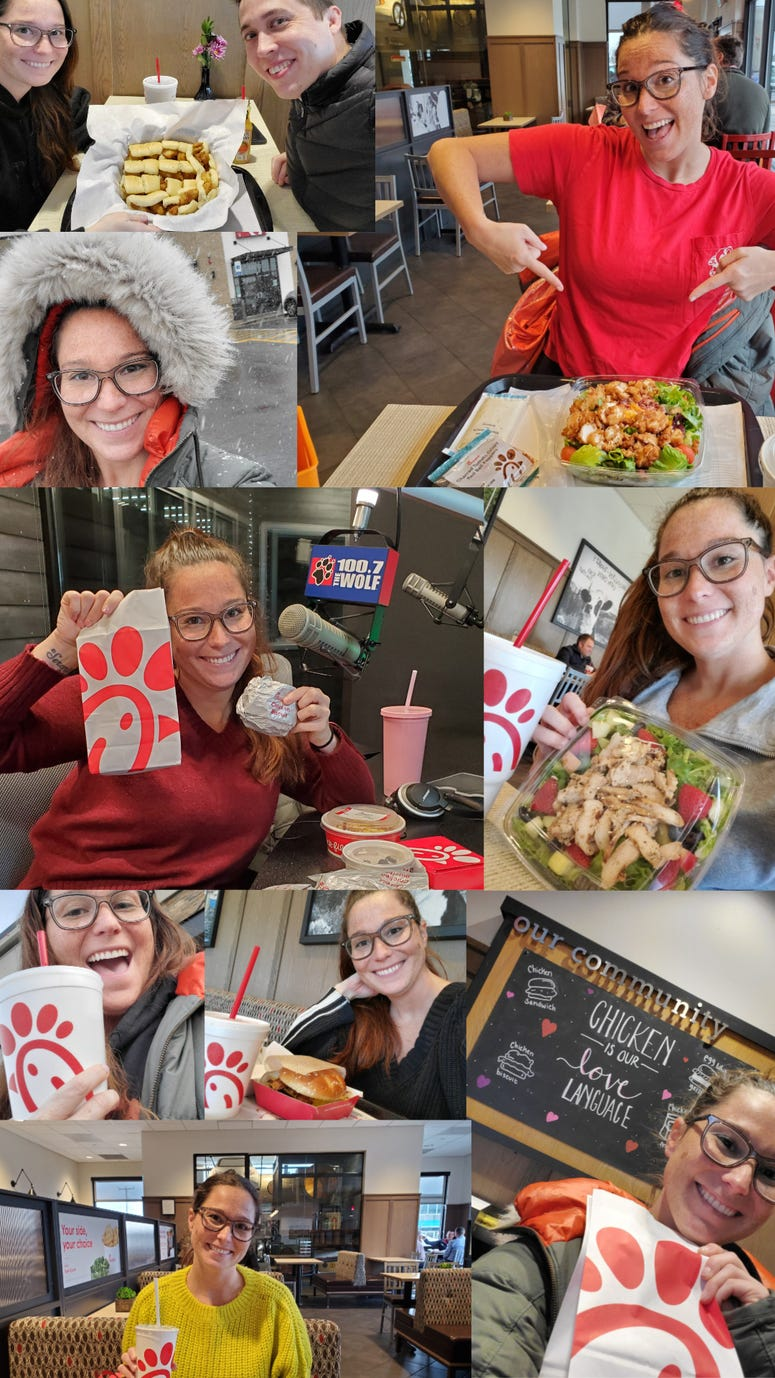 Emily Raines from MWP Set To Break Chick-Fil-A World Record