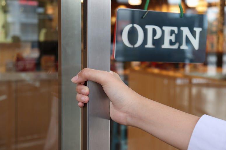We're open Seattle