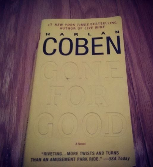 Gone for good, book