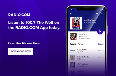 Listen to the Wolf with the Radio.com app
