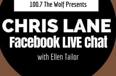 chris lane, ellen tailor, facebook, facebook live, country radio, country, country music