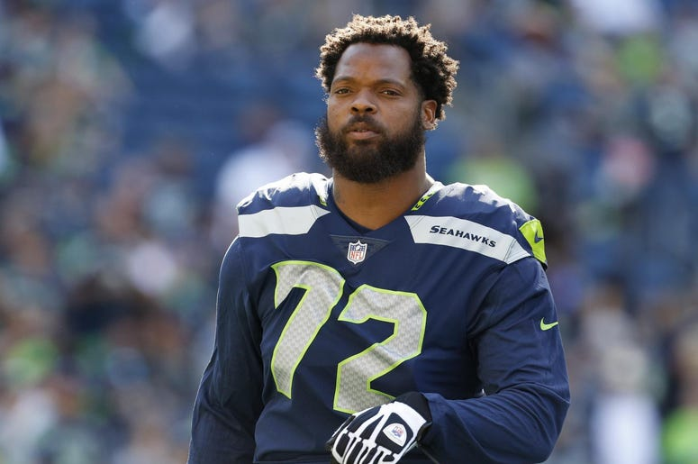 Michael bennett, las vegas, gun point, seattle seahawks
