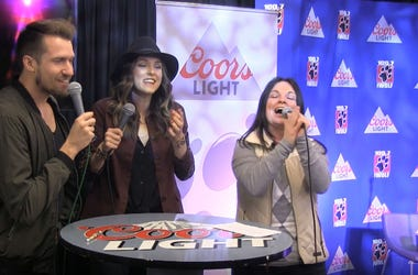 Smithfield live in the Wolf Coors Light Studio