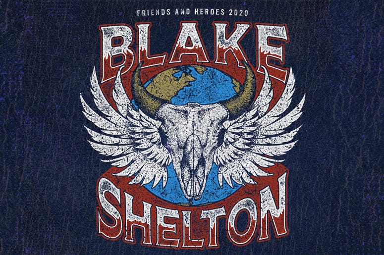 Tacoma Events 2020.Blake Shelton S Friends And Heroes Tour 2020 100 7 The Wolf