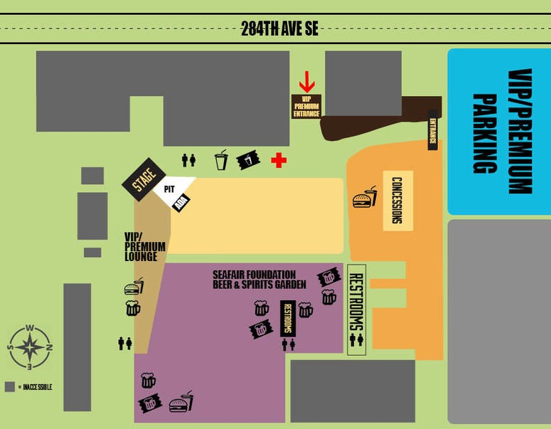 Find your way around with this map of Throwdown 2019