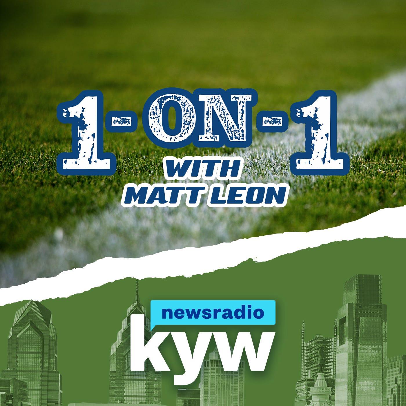KYW Newsradio's 1-On-1 with Matt Leon