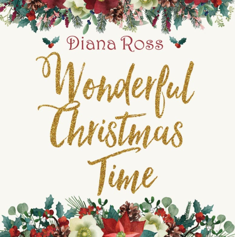 Diana Ross- Wonderful Christmas Time Cover