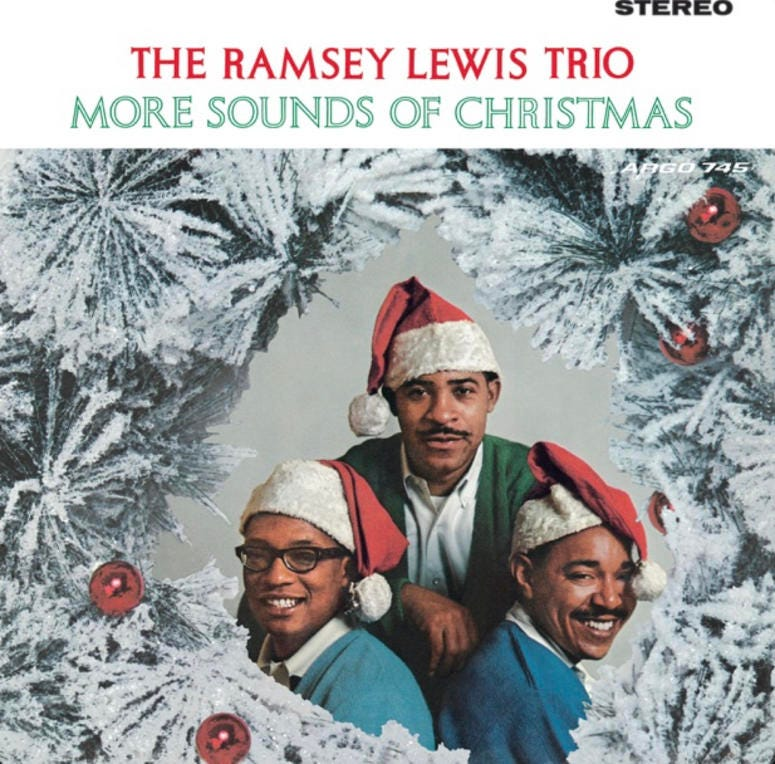 Ramsey Lewis Trio - More Sounds Of Christmas Cover