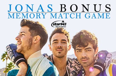 Play our Bonus Jonas Match Game to win tickets!