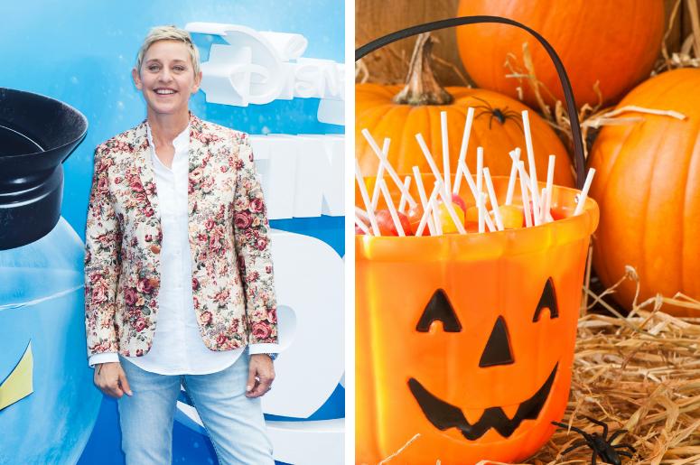 Ellen Generes and Halloween