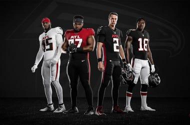 Atlanta Falcons 2020 New Uniform