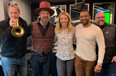 John Driscoll Hopkins joins Jenn and Friends in studio
