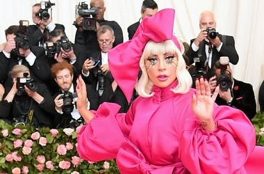 Lady Gaga at the 2019 Met Gala