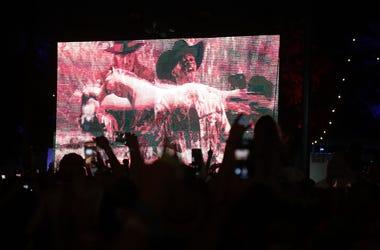 Lil Nas X @ Diplo show w/Billy Ray Cyrus