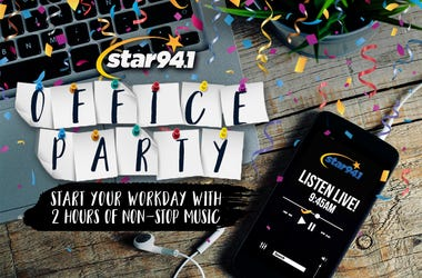 Star 94.1 office party