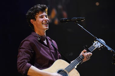 Shawn Mendes performs at the American Airlines Arena