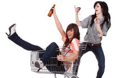 Group Therapy: The Drunk Shopper