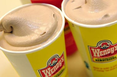 Delicious Wendy's Frosty