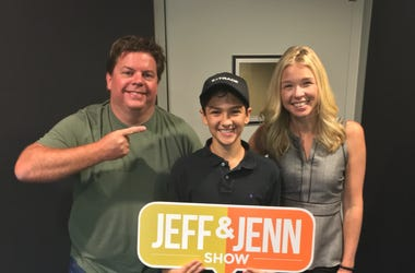 Jeff and Jenn with Royce Mann