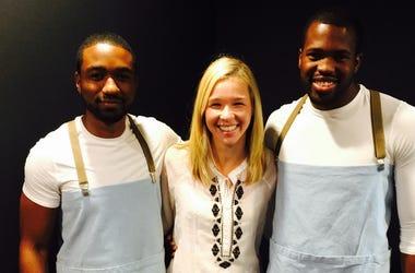 Jenn and BeetleCat Waiters