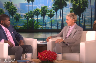 Quincy Jones with Ellen