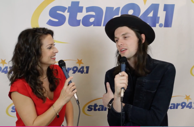 James Bay at Jingle Jam