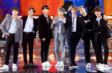 BTS on 'Good Morning America'