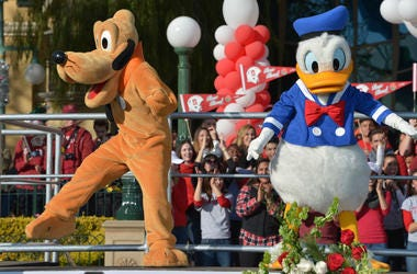 Pluto and Donald Duck