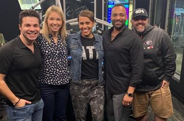 WSB's Jovita Moore and Jorge Estevez join Jenn and Friends in Studio