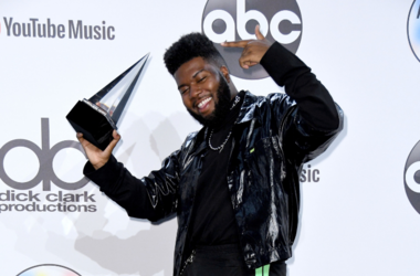 Khalid. 2018 American Music Awards