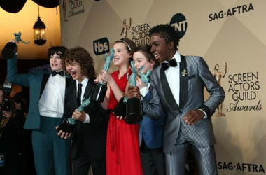 'Stranger Things' cast