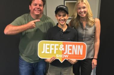 Jeff and Jenn with Royce Mann