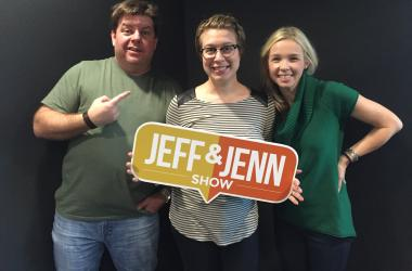 Jeff and Jenn with Jeff's Tarot Card Reader