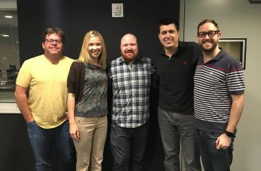 Jeff and Jenn Show with Kevin Gillespie