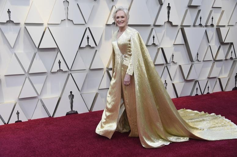 Glenn Close's Oscars Dress