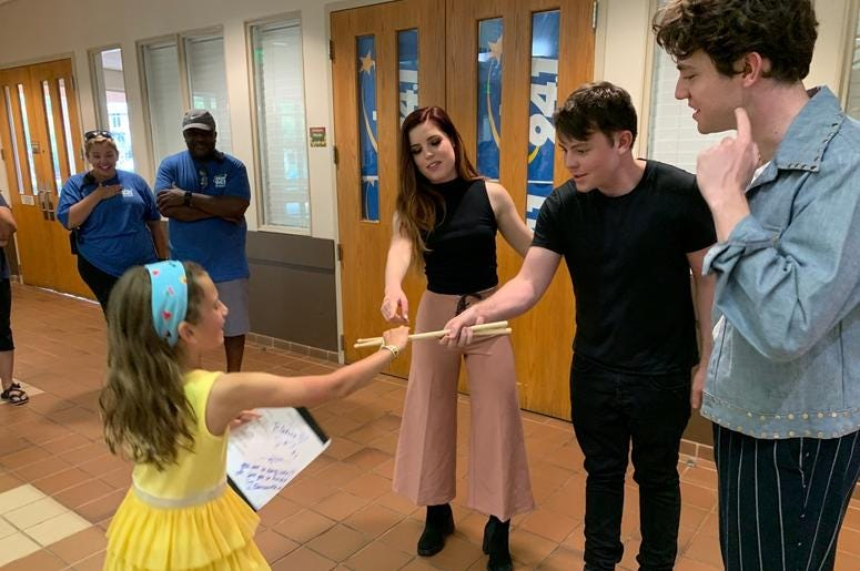 Echosmith Meet & Greet at Woofstock Smyrna 2019