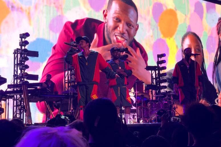 Atlanta has Bruno Mars' back