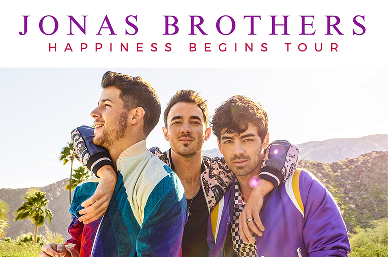 Jonas Brothers with Bebe Rexha and Jordan McGraw at State Farm Arena Atlanta