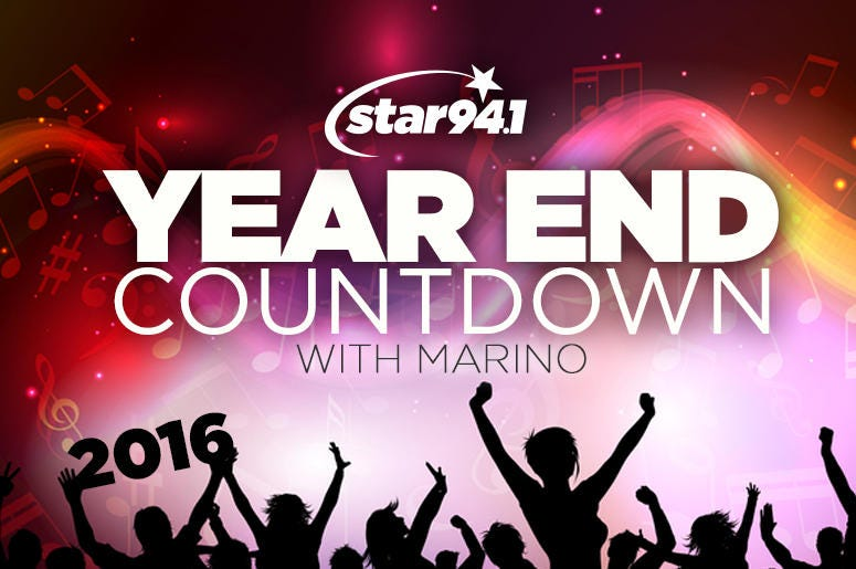 Year End Countdown with Marino!