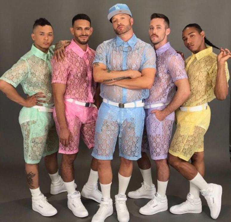 Hologram City Lace Shorts Shirts